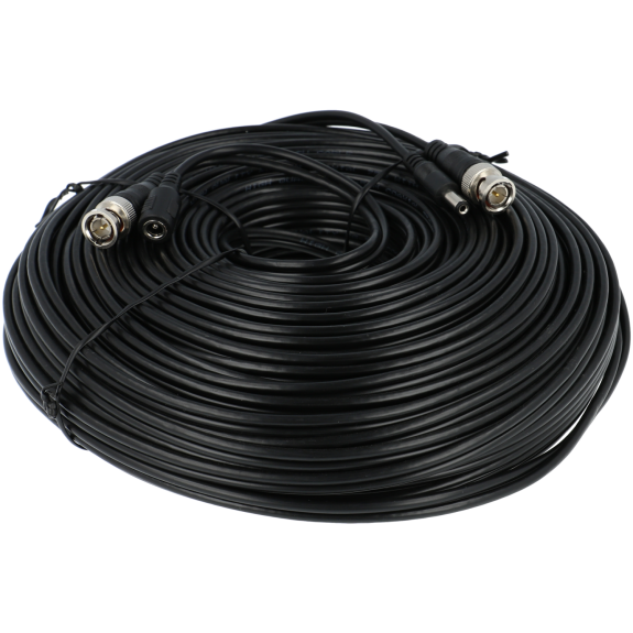 Cable A-CCTV combinado coaxial / alimentación de 40 m