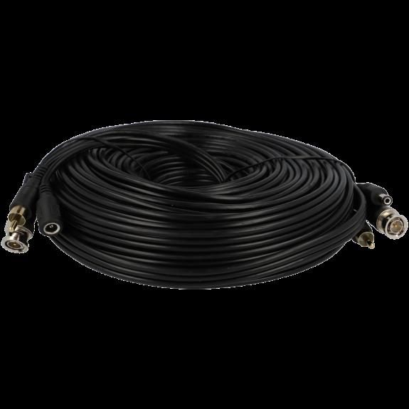 Cable A-CCTV combinado coaxial / alimentación / audio de 20 m