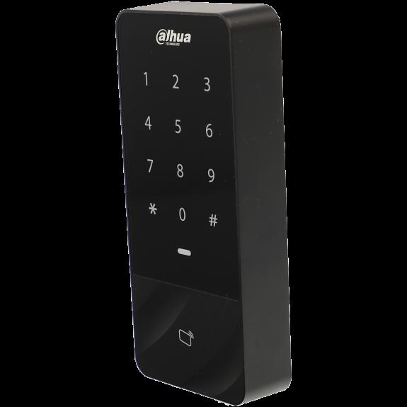 Control de acceso interior / exterior con lector tarjeta y teclado tipo mifare 13.56mhz
