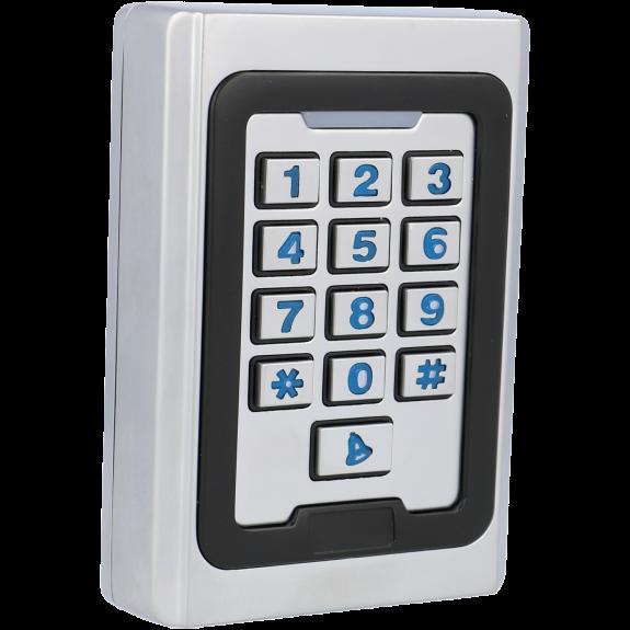 Control de acceso interior / exterior con lector tarjeta y teclado tipo rfid 125khz