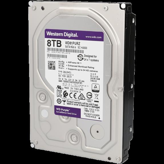 Disco duro purple 8 tb