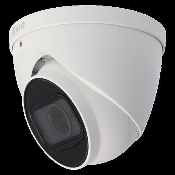 Cámara DAHUA minidomo ip de 8 megapíxeles y óptica varifocal motorizada (zoom)
