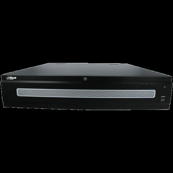 Grabador ip DAHUA de 128 canales y 12 mpx de resolución