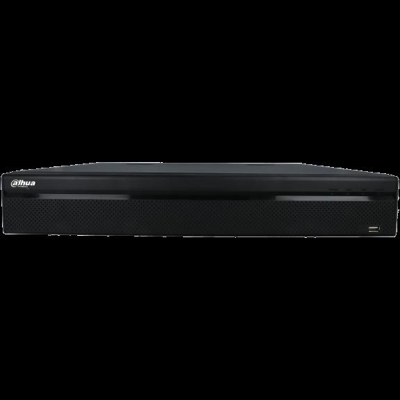 Grabador 5 en 1 (hd-cvi, hd-tvi, ahd, analógico y ip) DAHUA de 32 canales y 2 mpx de resolución máxima