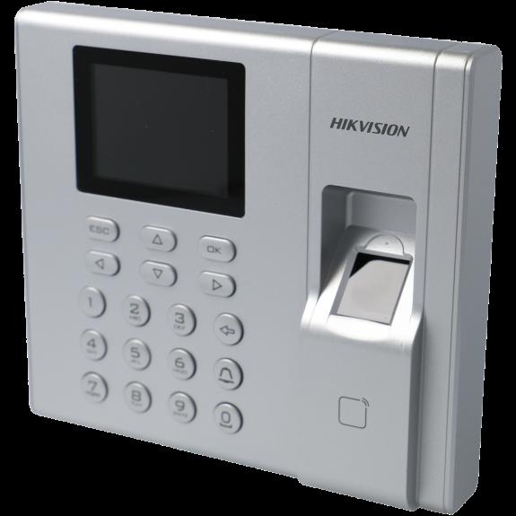 Control de acceso interior con tarjeta, teclado y huella tipo mifare 13.56mhz