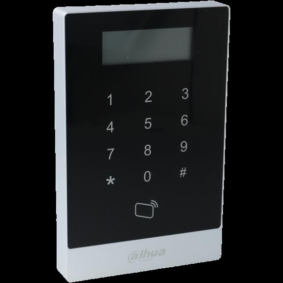 Control de acceso interior con lector tarjeta y teclado tipo rfid 125khz