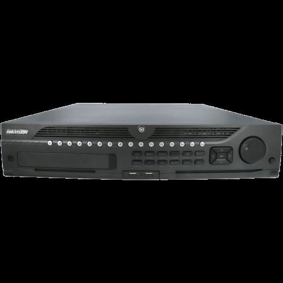 Grabador ip HIKVISION PRO de 32 canales y 12 mpx de resolución