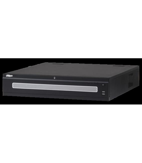 Grabador ip DAHUA de 64 canales y 12 mpx de resolución