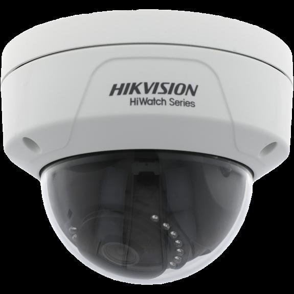 Cámara HIKVISION minidomo ip de 4 megapíxeles y óptica fija