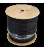 Cable A-CCTV micro rg59 / alimentación de 250 m