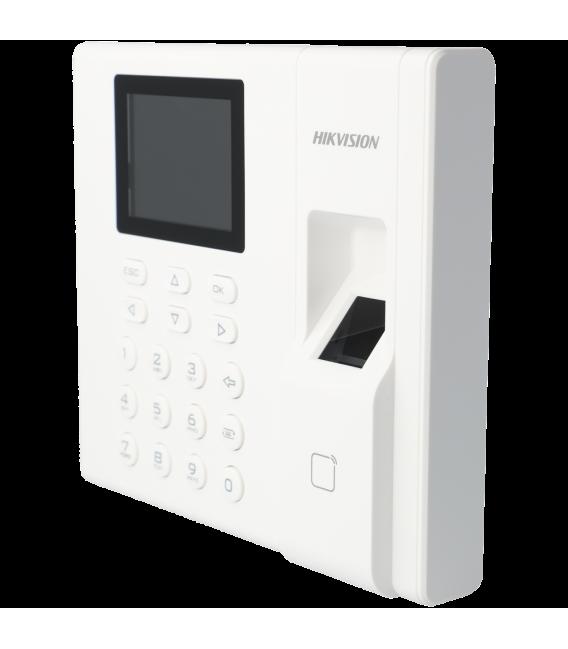 control de presencia interior con tarjeta, teclado y huella tipo mifare 13.56mhz