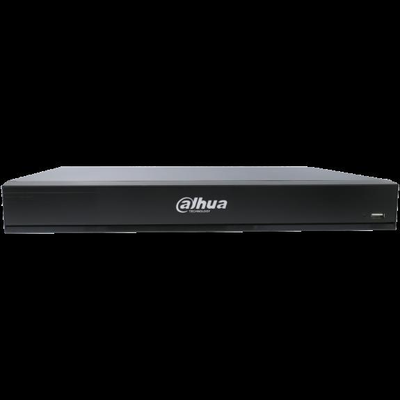 Grabador ip DAHUA de 8 canales y 12 mpx de resolución con 8 puertos PoE