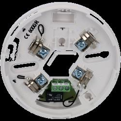 base con réle para los detectores convencionales
