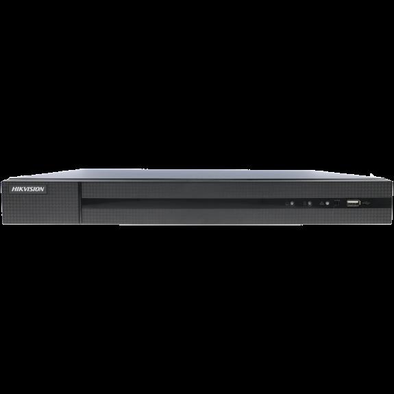 Grabador 5 en 1 (hd-cvi, hd-tvi, ahd, analógico y ip) HIKVISION de 24 canales y 4 mpx de resolución máxima
