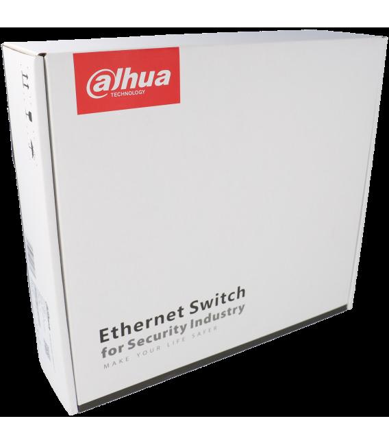 Switch DAHUA 6 puertos con 4 puertos PoE