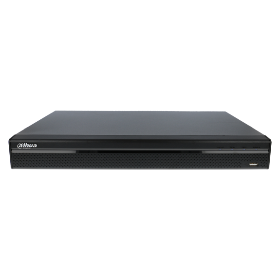 Grabador ip DAHUA de 32 canales y 8 mpx de resolución