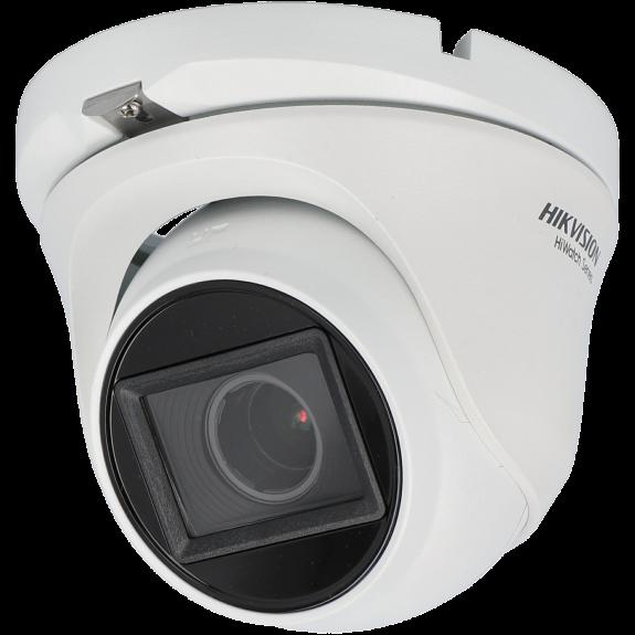 Cámara HIKVISION minidomo 4 en 1 (cvi, tvi, ahd y analógico) de 2 megapíxeles y óptica varifocal motorizada (zoom)