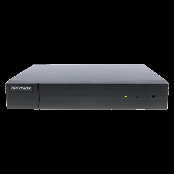 Grabador ip HIKVISION de 4 canales y 4 mpx de resolución