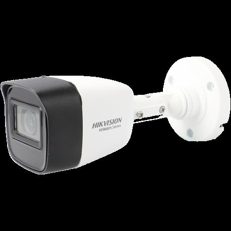 Cámara HIKVISION bullet 4 en 1 (cvi, tvi, ahd y analógico) de 8 megapíxeles y óptica fija