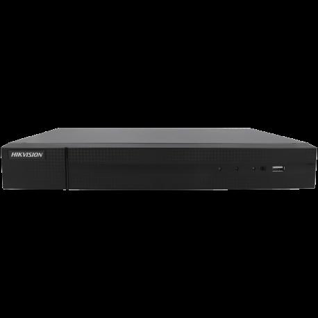 Grabador 5 en 1 (hd-cvi, hd-tvi, ahd, analógico y ip) HIKVISION de 16 canales y  de resolución máxima
