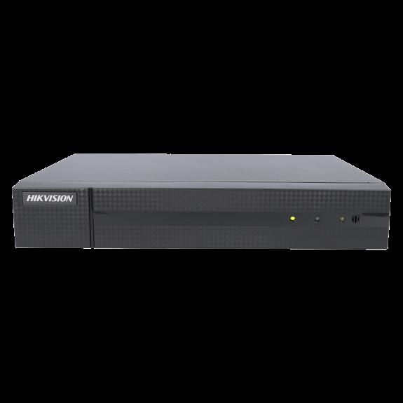 Grabador 5 en 1 (hd-cvi, hd-tvi, ahd, analógico y ip) HIKVISION de 16 canales y 4 mpx de resolución máxima