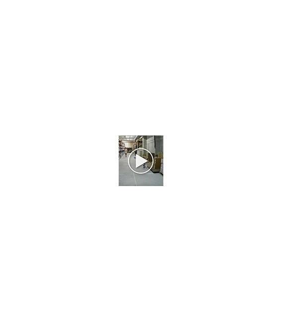 Cámara  minidomo hd-cvi de 5 megapíxeles y óptica fija