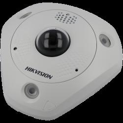 Cámara HIKVISION PRO fisheye ip de 12 megapíxeles y óptica fija