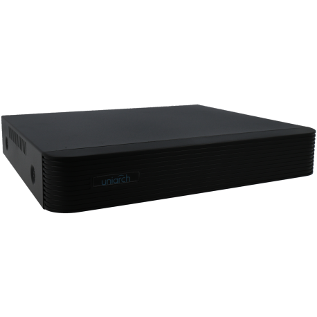 Grabador 5 en 1 (hd-cvi, hd-tvi, ahd, analógico y ip) UNIARCH de 4 canales y 2 mpx de resolución máxima