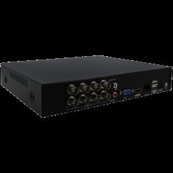 Grabador 5 en 1 (hd-cvi, hd-tvi, ahd, analógico y ip) UNIARCH de 8 canales y  de resolución máxima