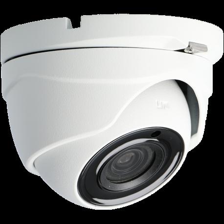 Cámara A-CCTV minidomo 4 en 1 (cvi, tvi, ahd y analógico) de 5 megapíxeles y óptica fija