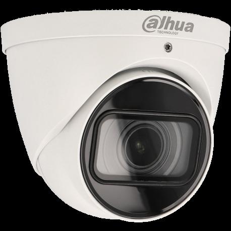 Cámara DAHUA minidomo ip de 5 megapíxeles y óptica varifocal motorizada (zoom)