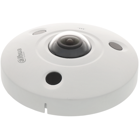 Cámara DAHUA fisheye ip de 12 megapíxeles y óptica fija