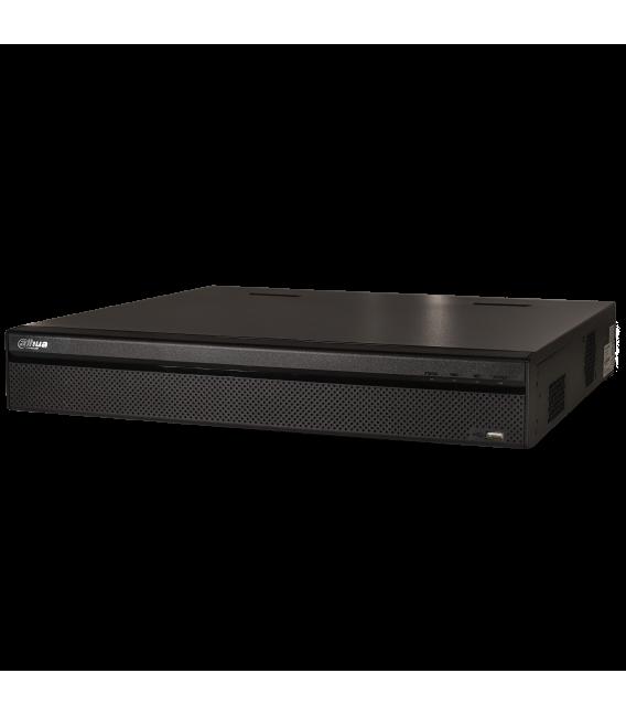 Grabador ip DAHUA de 32 canales y 12 mpx de resolución