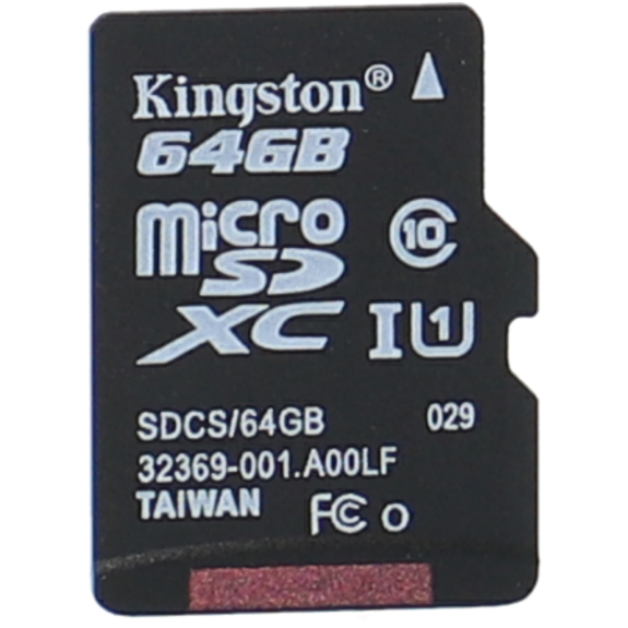 Tarjeta sd KINGSTON 64 gb